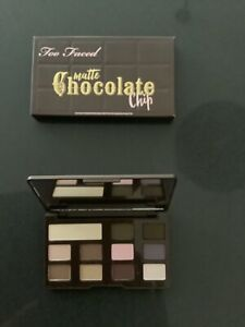 Too Faced eyeshadow palette / Matte Chocolate Bar Chip Mini Makeup New Authentic