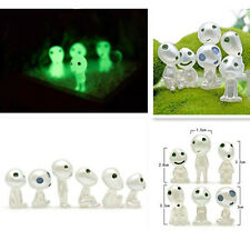 6 Pcs Studio GHIBLI Princess Mononoke Forest Spirit Elf Kodama Glow Dark Toy