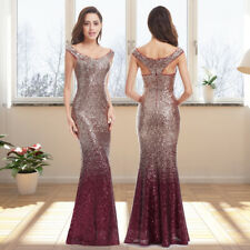 Ever-Pretty Sequins Red Formal Evening Party Dresses Gowns 08999 Size 8