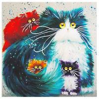 Cat 5D Diamond Painting Full Drill Embroidery Cross Stitch Kit Craft Home Decor