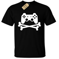 Kids Boys Girls GAME CONTROLLER PAD T-Shirt funny geek gamer ps4 xbox one