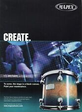 2005 Print Ad of Mapex Orion Series Drum Kit w Rick Brothers of Gretchen Wilson
