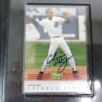 1992 Classic Best CHIPPER JONES Rookie Baseball Card Treat Pro Autograph Braves