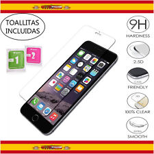 Protector de Pantalla Cristal Templado para iPhone 7 Dureza 9H 2.5D