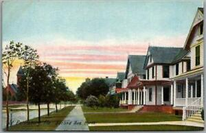 """St. Petersburg, Florida Postcard """"Second Avenue North"""" Residential Houses c1910s"""