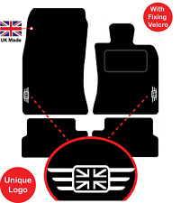 MINI Cooper 2006 to 2013 R56 Tailored Car Mats Unique logos & Fixing Velcro