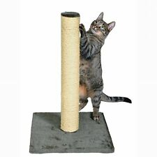 TRIXIE Pet Products Pet Cat Scratcher Sisal Scratching Post Parla Platinum Gray