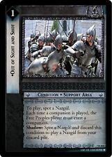 LoTR TCG RotK Return of the King Out Of Sight And Shot 7R204