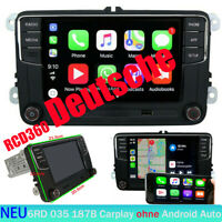 Autoradio RCD360 187B Carplay BT USB RVC Für VW GOLF CADDY POLO PASSAT Deutsch