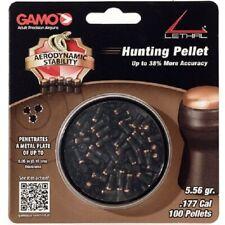 Gamo 632274054 Lethal .177 Cal Polymer Skirt Non-Lead Hunting Pellet (100 Pack)