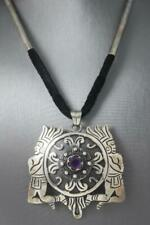 Vintage Taxco Sterling Silver Signed Choker Necklace
