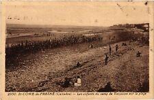 CPA  St-Come -de-Fresné (Calvados) - Les enfants du camp de Vacances (515977)