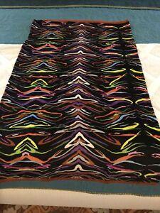 Missoni Home Bath Towel Tessuto 100% Cotton, Black, Brown