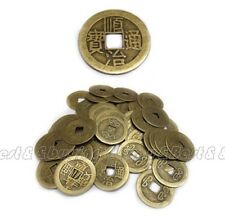 100x Feng Shui Chinese Dragon Phoenix Coins Lucky Ching Coin for Fortune