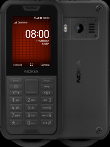 NOKIA 800 TOUGH IP68 WATER RESISTANCE 4G LTE BLACK UK VER (SINGLE SIM)  UNLOCKED