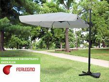 OMBRELLONE DECENTRATO IN ALLUMINIO ARREDO GIARDINO 2X3 SMERALDA ART 14466