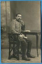 CPA Photo: Soldat français prisonnier en Allemagne / Guerre 14-18