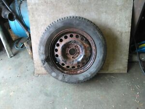 Vauxhall zafira b 1998 to 2005 steel wheel and Excellent michelin 195/65r15 tyre