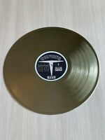 Nirvana - Bleach 1989 Vinyl Custom Gold Plated Record Excellent Condition