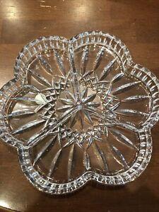 Waterford Crystal Lismore 3 Part Dish IOB