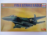 ESCI F/A-15E STRIKE EAGLE FIGHTER 1/72 SCALE PLASTIC MODEL PLANE