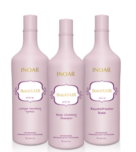 Inoar Botohair Kit 33.8oz each bottles,ships same day, exp 06/2023 FREE SHIPPING