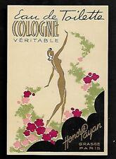 Etiquette Parfum   SUPERBE      Dim    6   X    8,5  Cm