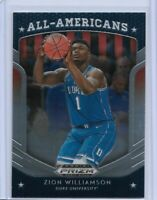 2019 PANINI DRAFT PICK ZION WILLIAMSON ROOKIE # 100