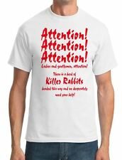 Attention! Attention! - - Night of the Lepus (1972) Mens T-Shirt