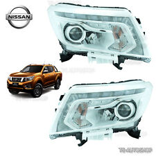 FOR NISSAN NAVARA D23 NP300 2015 2016 L+R SET FRONT HEAD LAMP LIGHT DRL LED OEM