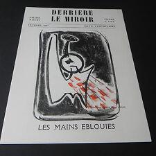 Derriere le Miroir October 1947 Art Magazine Eblouies Galerie Maeght