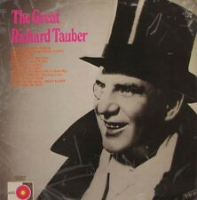 RICHARD TAUBER The Great  LP - Axis Label