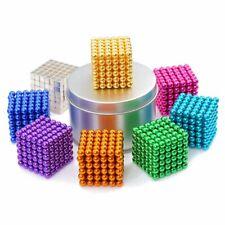 Fidget Building Set Multi Colored 216 PCS 5mm Mgntic Balls 8 Colors