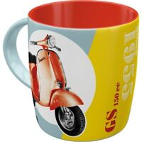 Vespa GS 150 Roller Kaffeetasse Becher Souvenir Tasse 330 ml. coffee mug