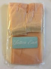 Vintage Bloomingdales Sutton East Dusty Peach Agilon Bikini Pantyhose Small