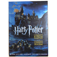Harry Potter (1-8) DVD, 2011, 8-Disc Set, Complete Collection Movie. New&Sealed.