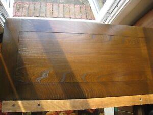 ERCOL TRADITONAL DRAWLEAF DINING TABLE SEATS 10