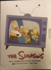 The Simpsons Complete First Season 1 DVD Collectors Edition SEALED free shipping