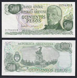 Argentina 500 pesos 1977 (82) FDS/UNC  A-06