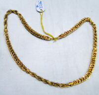 Gold chain 22k gold thick Necklace 22 K jewelry