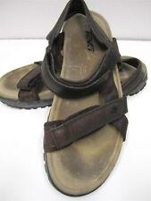 MENS TEVA BROWN SPORT*WATER*HIKING SANDALS Velcro adjust Heel/Toe Sz9 N # 93b