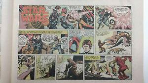 STAR WARS Newspaper Comic Strip - BOBA FETT                / Sunday July 20 1980