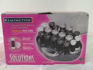 Remington Care Setter Ionic Hairsetter 20 Heated Hot Rollers Hair Curler, New
