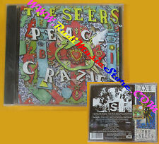 CD THE SEERS Peace Crazies 1992 Uk CHERRY RED SIGILLATO no lp mc dvd (CS3)