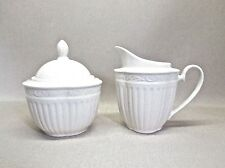 MIKASA ITALIAN COUNTRYSIDE .. CREAM PITCHER AND SUGAR BOWL SET