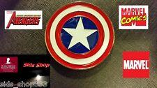 Captain America Shield Belt Buckle Full metal cosplay or just wear :) US Seller