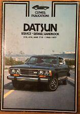 1968-1977 Datsun Service Repair Handbook 510, 610, and 710 ~ CLYMER PUBLICATIONS