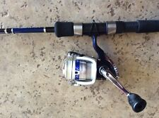 "Daiwa Shock Spinning Combo 6'0"" Rod Medium Light W/2000Bi Reel New"