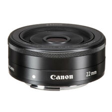 New Canon EF-M 22mm f/2.0 STM Pancake Lens 5985B002 for Canon EOS M Cameras