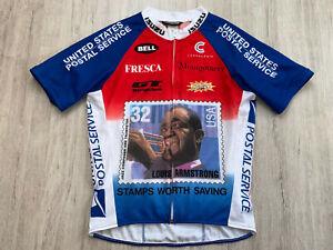 Louis Armstrong USPS Fahrradtrikot Radtrikot Trikot Cycling Jersey Cannondale M